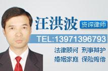 武汉汪洪波律师