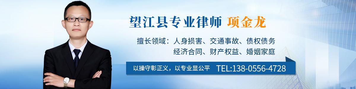 望江县律师-项金龙律师