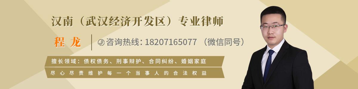 汉南区律师-程龙律师